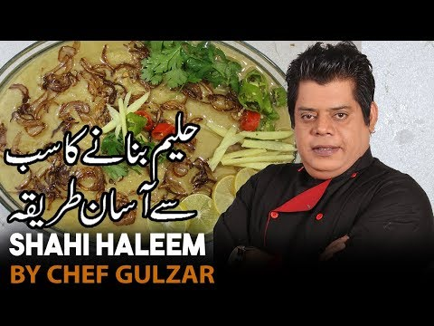 Shahi Haleem Chef Gulzar