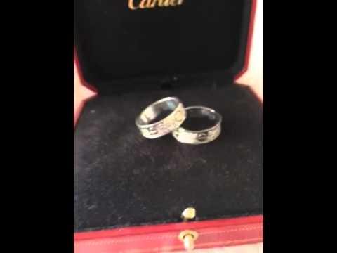 Cartier Infinite Love rings