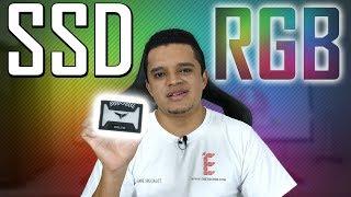 SSD RGB Conheça o SSD da TEAM GROUP T FORCE DELTA RGB