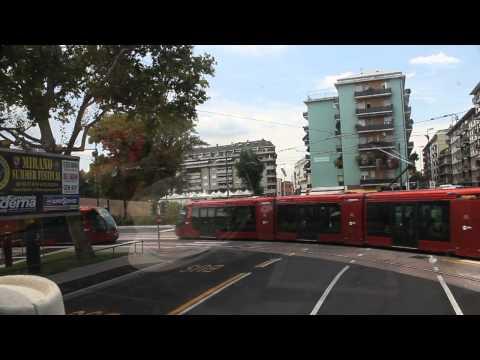 Bus ride from Venice to Treviso, Italy V