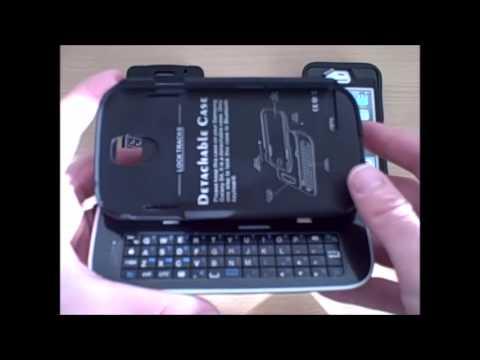 Sliding Bluetooth Keyboard Samsung Galaxy S4 | 800-422-1814 | DiscountCell