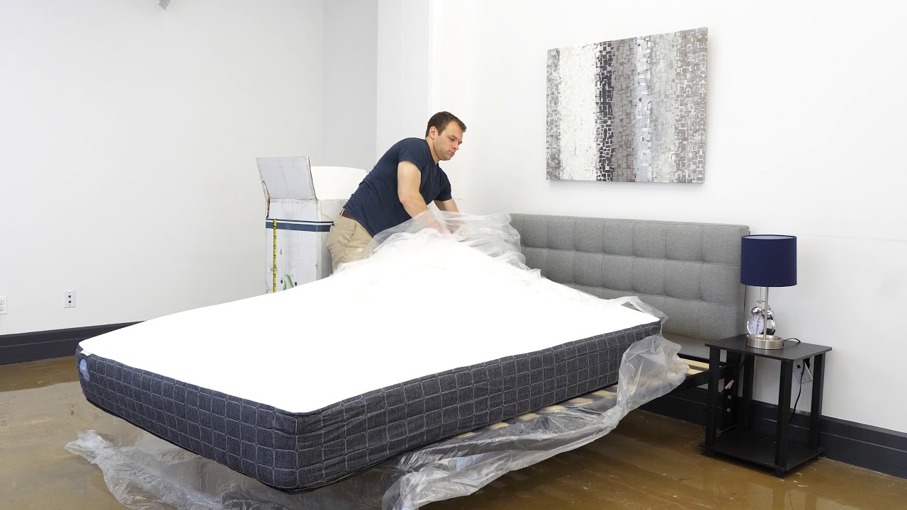 Unboxing the Tochta Mattress - The Perfect Bed for Your RV? - YouTube