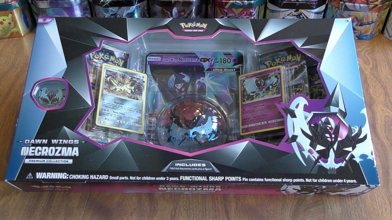 Pokemon TCG Dawn Wing Necrozma Box