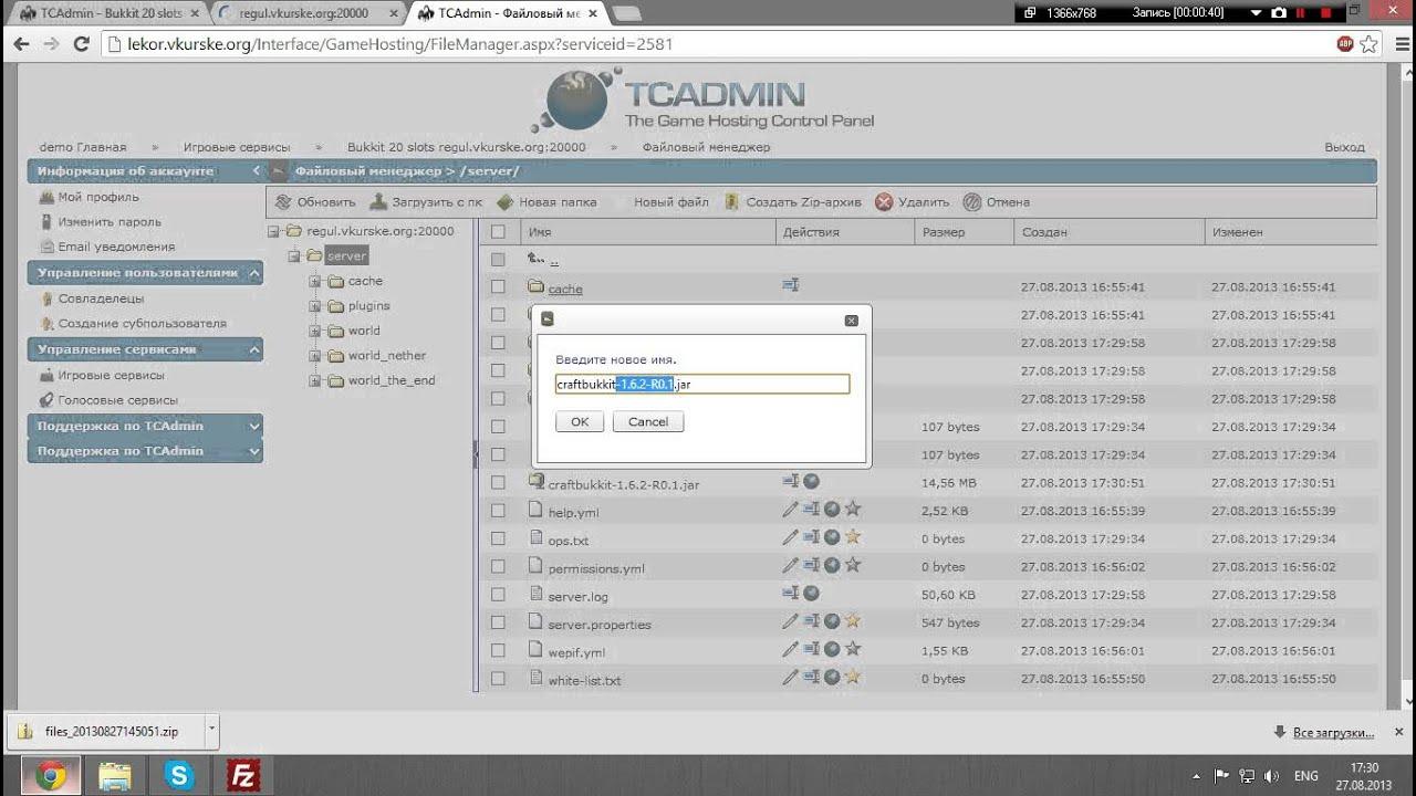 Запуск сервера minecraft на хостинге бесплатный хостинг з констуктором сайтов