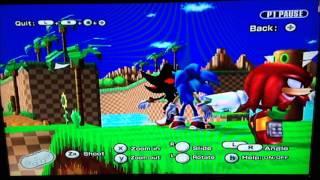 [Hack SSBB] Super Smash Bros. Brawl - Shadow VS. Knuckles VS. Sonic