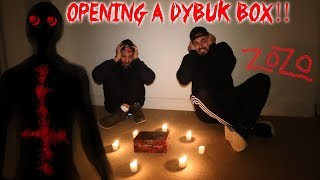 THE HAUNTED DYBUK BOX RITUAL!  WE FREED A DEMON IN A HAUNTED HOUSE!