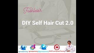 GYNAE PENANG: Sunday DIY Self HairCut PART 2