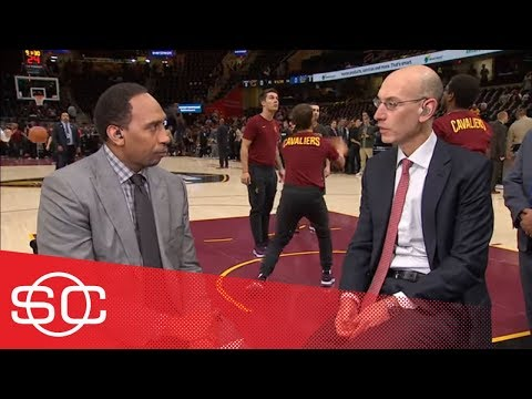 Adam Silver not bothered by Warriors-Cavs domination or skipping White House | SportsCenter | ESPN