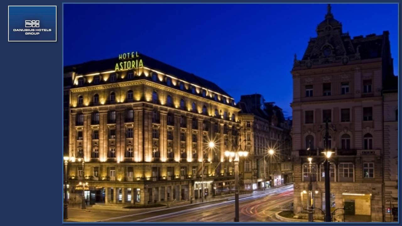 Danubius hotel astoria city center hotel in budapest for Hotel budapest