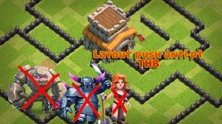 Melhor Layout Push anti-pt para cv 8 2016!!!