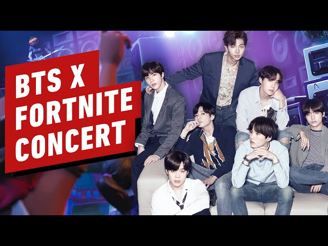 Fortnite x BTS