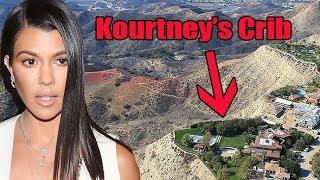 Kourtney Kardashian's Calabasas Estate Narrowly Escapes Destruction In LA Fire