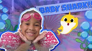 Cali Turns into Baby Shark!