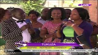 Tanzanian gospel music star Christina Shusho on KTN's Tukuza Show