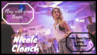 WCS Play with your basics with Nicole Clonch