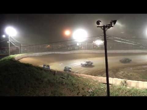 #1w Thunder Feature Part 1 Wartburg Speedway 4/15/2017