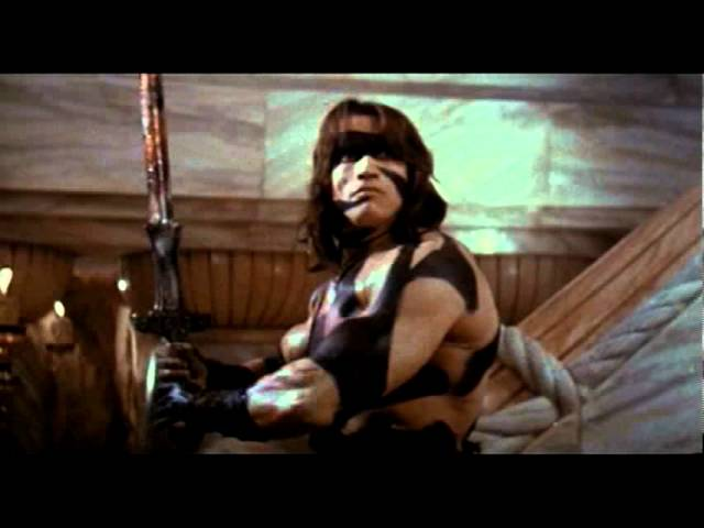 Conan The Barbarian 1982 Theatrical Trailer Youtube