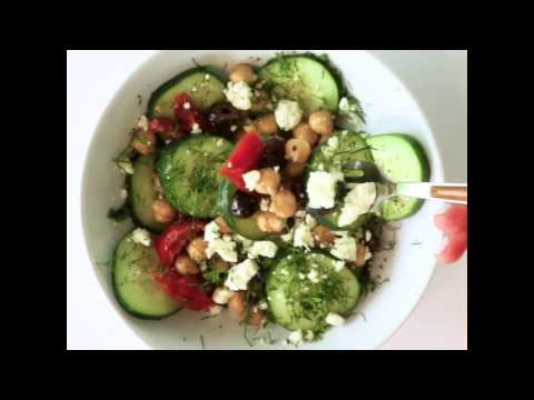 Greek Cucumber and Chickpea Breakfast Bowl   Cooking Light
