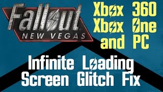 Fallout New Vegas Infinite Loading Screen Fix For Xbox 360, Xbox One And Pc   Carbon Knights