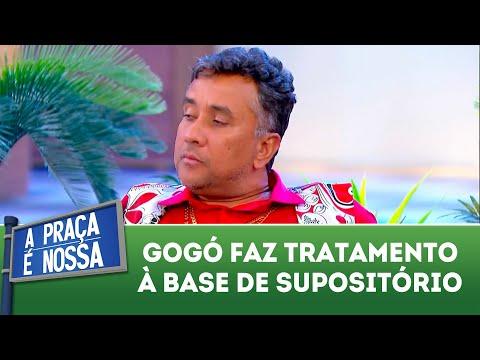 Gogó faz tratamento à base de supositório  | A Praça é Nossa (29/03/18)