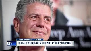 Buffalo restaurants to honor Anthony Bourdain