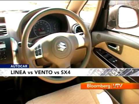 SX4 D vs Vento D vs Linea D video comparison by Autocar India