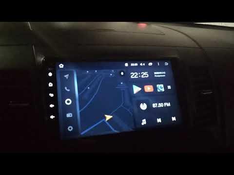 Затемнение экрана магнитолы Teyes