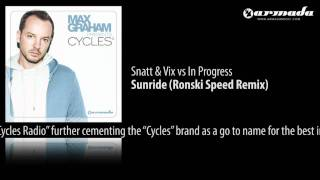 CD1.10 Snatt & Vix vs In Progress - Sunride (Ronski Speed Remix)