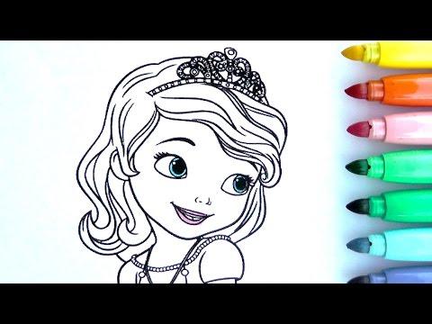 ROTULADORES MÁGICOS DE PRINCESA SOFIA CON DIBUJOS SORPRESA. Color Wonder Princesa Sofia de Crayola.
