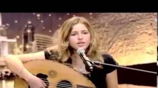 Jennifer Grout ( 23 ans ) Americaine chante Oum Kelthoum