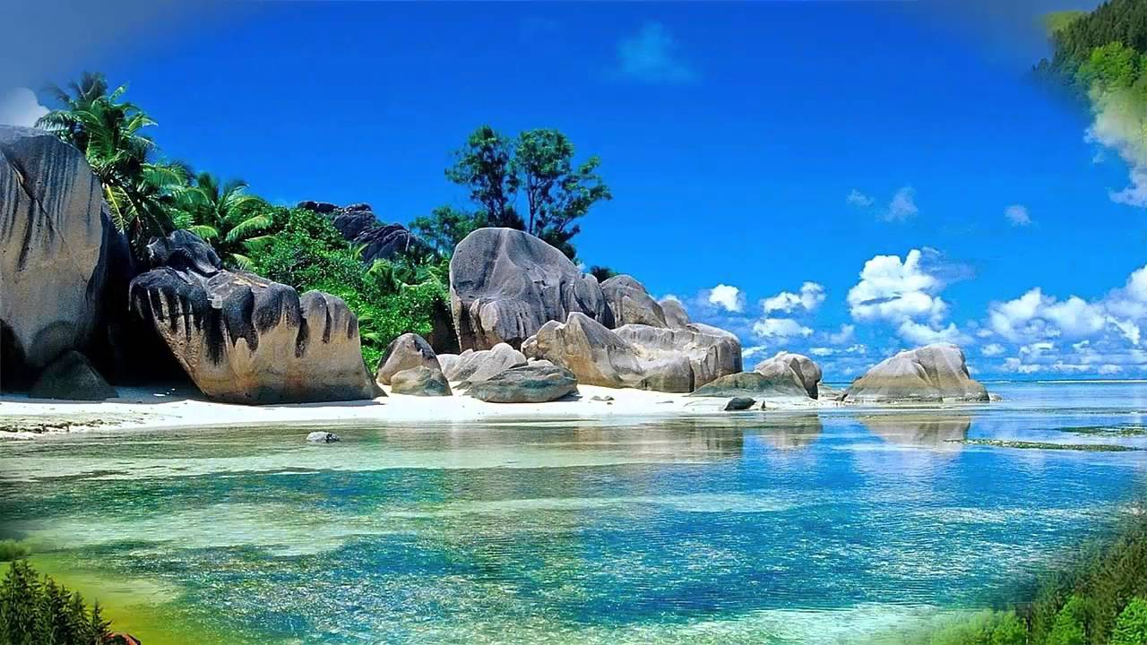 beautiful 3d nature landscape