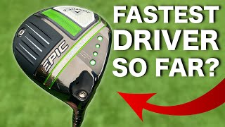 Callaway Epic 2021 Drivers Review | SPEED, MAX & M...
