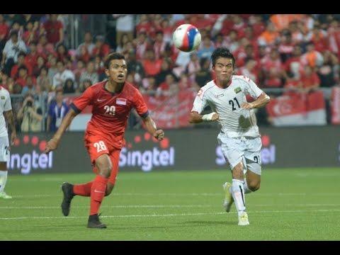 2015 SEA Games Football Group A Singapore vs Myanmar