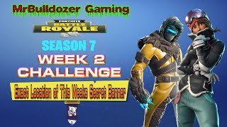 Fortnite Staffel 7 Woche 2 Herausforderung Exakter Ort des geheimen Banners