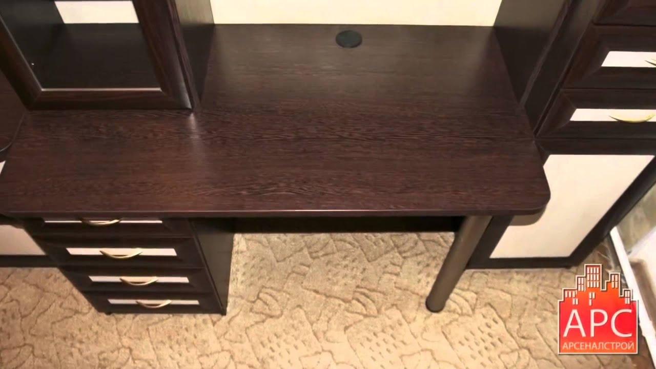 Встроенный компьютерный стол и шкаф на лоджии под заказ - YouTube