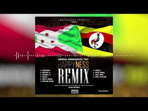 Happiness Rmx - Blondly ft Ugandan Gospel Artists & Burundian Gospel Rappers