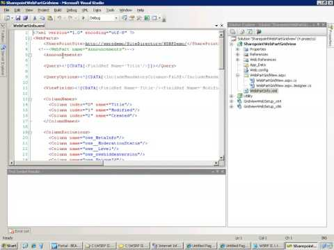 WSRP Toolkit for SharePoint 2007 - demo 2