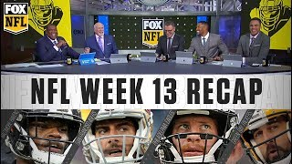Week 13: Lamar Jackson's performance, 49ers' struggles, and Eagles' surprising loss | FOX NFL