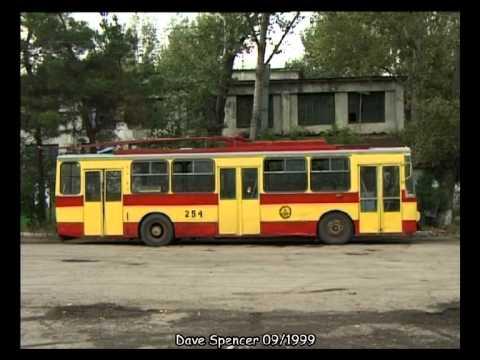 Tbilisi (Georgia) Tiflis / Trolleybus / ტროლეიბუსი / Obus  - 09.1999