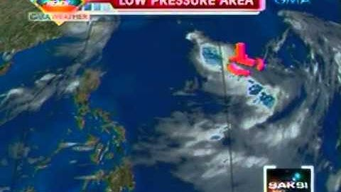 Saksi: GMA Weather update (August 2, 2012)