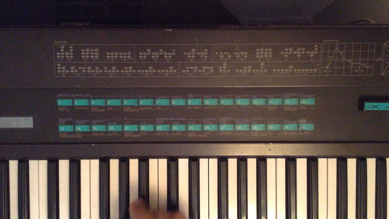 yamaha dx7 easy fm tutorial part one youtube rh youtube com yamaha dx21 user manual yamaha dx21 user manual