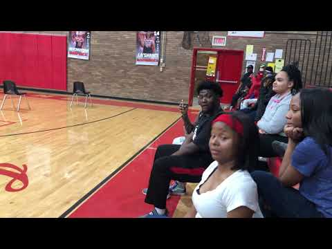 Jim hill high school Tigerettes vs Provine High School EOP(slow stands)