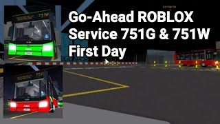 [First day] Go-Ahead ROBLOX 751G/W Joyride