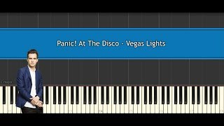 Panic! At The Disco - Vegas Lights (piano tutorial/cover)