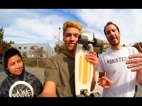 20 SKATEBOARD TRICKS ON A PENNY BOARD