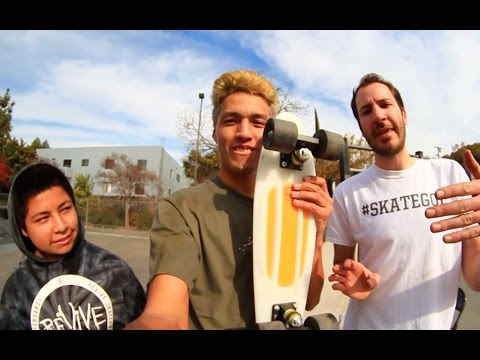 Skateboard Tricks On Penny Board