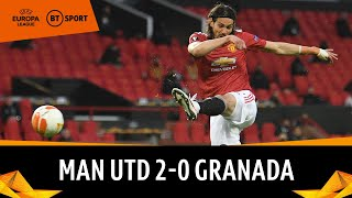 Man Utd vs Granada (2-0) | Ole's Reds Into Fifth Semi-Final In Two Years | Europa League Highlights