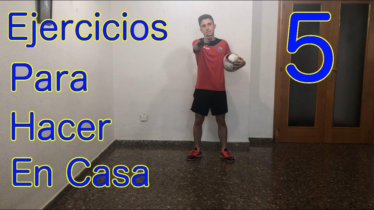 Ejercicios De Futbol Para Hacer En Casa 5 Entrenamientos De Futbol Youtube