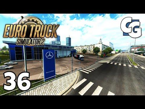 Euro Truck Simulator 2 - Ep. 36 - Entering Warsaw - ETS2 Gameplay