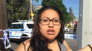 Witness describes pedestrian crash at Amboy and Richmond roads